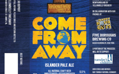 Come From Away Beer Label